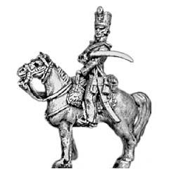 Landwehr officer, shako