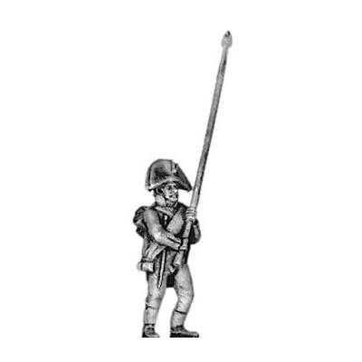 Musketeer standard bearer, bicorne