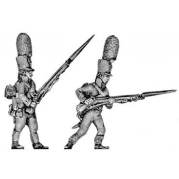 Grenadier, shako, advancing