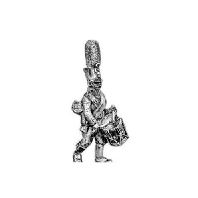 Grenadier drummer, shako