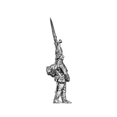Grenadier, mitre, march attack