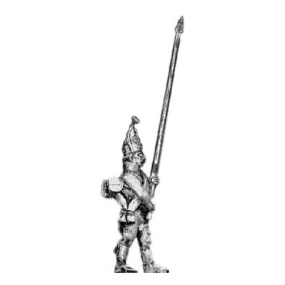 Grenadier standard bearer, mitre
