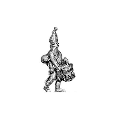 Grenadier drummer, mitre