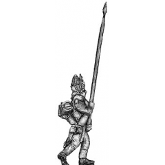 Fusilier standard bearer, mitre