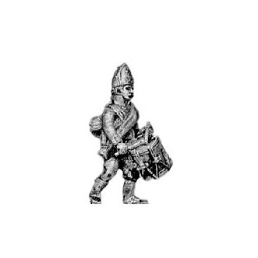 Fusilier drummer, mitre