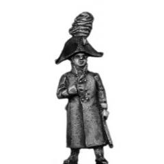 Grenadier officer, greatcoat