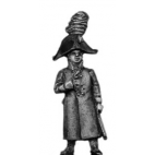 Grenadier officer, greatcoat