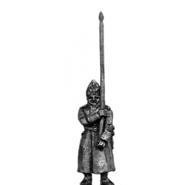 1805-11 Fusilier standard bearer in greatcoat