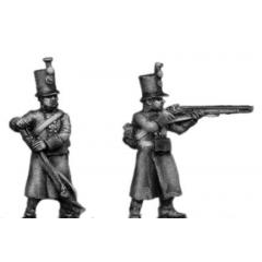 J¦ger, greatcoat, skirmishing