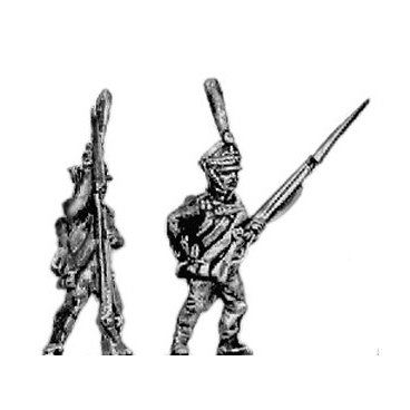 Grenadier, firing and loading