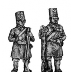 Moscow Militia with musket
