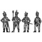 Saxon artillery crew, firing