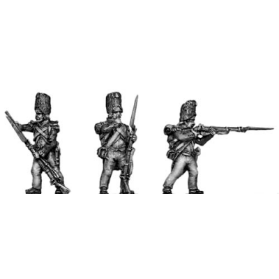 Grenadier of the Guard, skirmishing