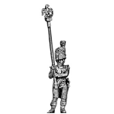 Chasseur of the Guard eagle bearer