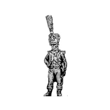 Fusilier of the Guard chasseur officer