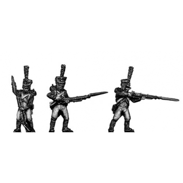 Young Guard, 1809-12 uniform, skirmishing