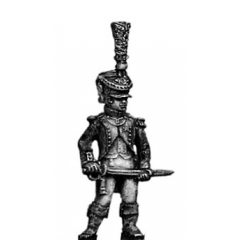 Young Guard Officer, 1809-12 uniform