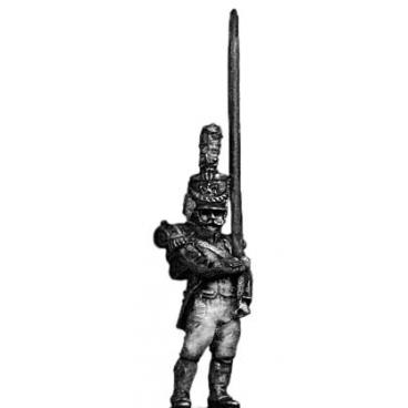 Young Guard Standard Bearer, 1809-12 uniform