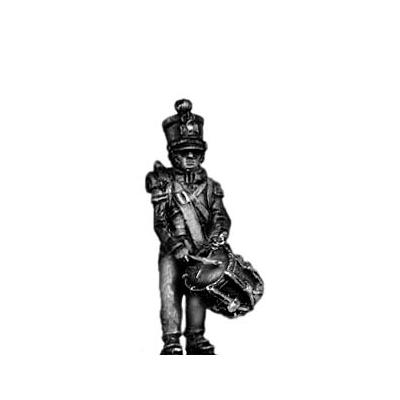 Young Guard Drummer, 1814 uniform