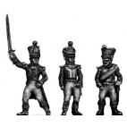 Young Guard Officer, 1814 uniform