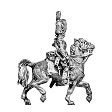 Grenadier a Cheval of the Guard trumpeter