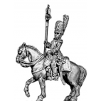 Grenadier a Cheval of the Guard eagle bearer