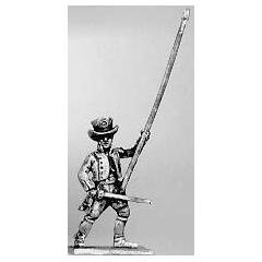 Militia standard bearer