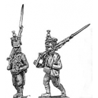 Line infantry, shako, marching