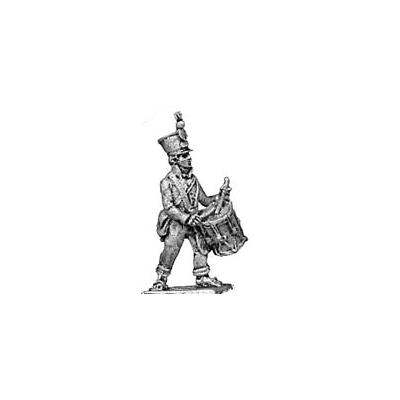 Line infantry drummer, shako