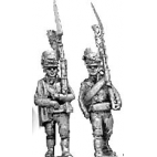Light infantry, shako