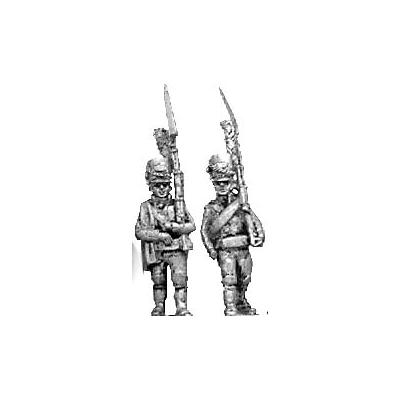 Light infantry, shako