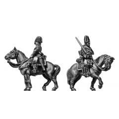 Cavalry trooper, cocked hat