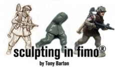 Sculpting a Figure - from Fimo to Painted Figure